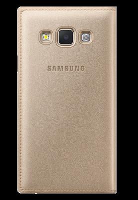 Чехол Samsung Flip Cover EF-FA300BFEGRU Gold для Galaxy A3 2