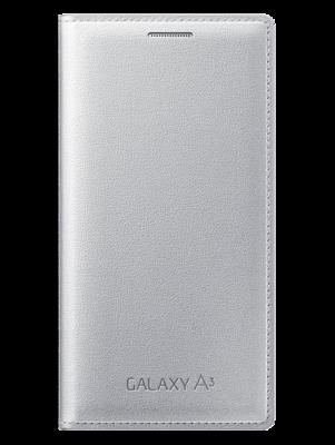 Чохол Samsung Flip Cover EF-FA300BSEGRU Silver для Galaxy A3 1