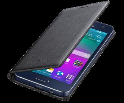 Чохол Samsung Flip Cover EF-FA300BCEGRU Charcoal для Galaxy A3 3