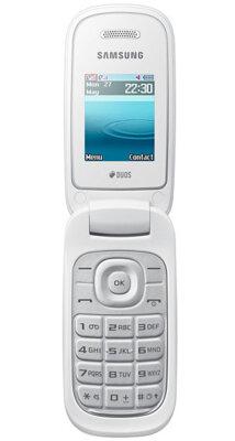Мобильный телефон Samsung E1272 Duos Ceramic White 2