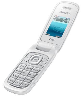 Мобильный телефон Samsung E1272 Duos Ceramic White 3