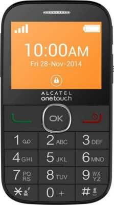 Мобильный телефон Alcatel 2004G Black 1