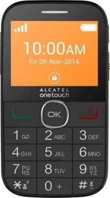 Мобільний телефон Alcatel 2004C Black 1