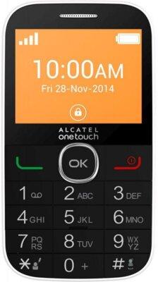 Мобильный телефон Alcatel 2004C White 1