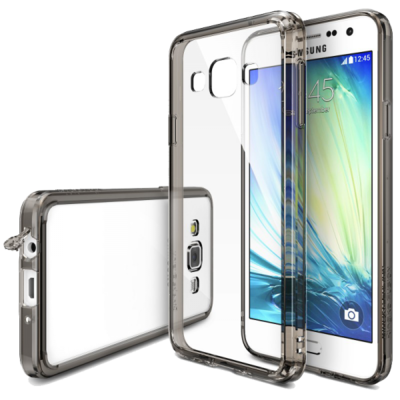 Чохол Ringke Fusion 553075 Smoke Black для Samsung Galaxy A3 1