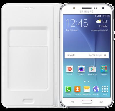 Чехол Samsung Flip Wallet EF-WJ700BWEGRU White для Galaxy J7 2