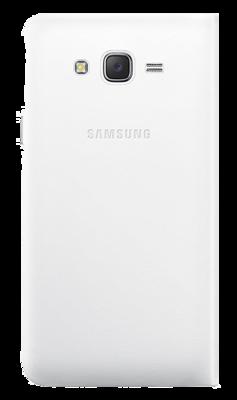 Чехол Samsung Flip Wallet EF-WJ700BWEGRU White для Galaxy J7 3