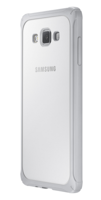 Чехол Samsung Protective Cover EF-PA700BSEGRU Light Gray для Galaxy A7 2