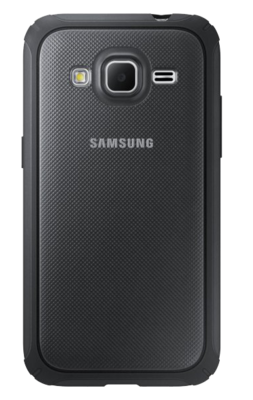 Чехол Samsung Protective Cover EF-PG360BSEGRU Silver для Galaxy Cover Prime 1