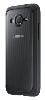 Чехол Samsung Protective Cover EF-PG360BSEGRU Silver для Galaxy Cover Prime 2