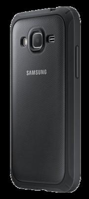 Чохол Samsung Protective Cover EF-PG360BSEGRU Silver для Galaxy Grand Prime 2