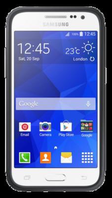 Чохол Samsung Protective Cover EF-PG360BSEGRU Silver для Galaxy Grand Prime 3