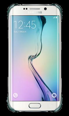 Чехол Samsung Protective Cover EF-YG925BBEGRU Blue Black для Galaxy S6 Edge 2