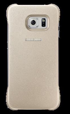 Чохол Samsung Protective Cover EF-YG925BFEGRU Gold для Galaxy S6 Edge 1