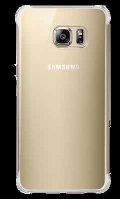 Чехол Samsung Clear View Cover EF-ZG928CFEGRU Gold для Galaxy S6 Edge Plus 3