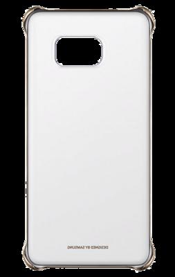 Чехол Samsung Clear Cover EF-QG928MBEGRU Glossy Gold для Galaxy S6 Edge Plus 2