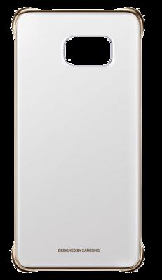 Чехол Samsung Clear Cover EF-QG928MBEGRU Glossy Gold для Galaxy S6 Edge Plus 3
