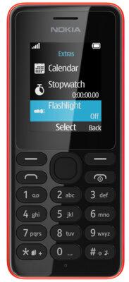 Мобильный телефон Nokia 108 Red 1