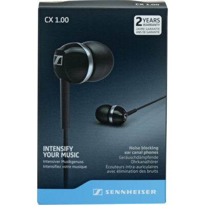 Навушники Sennheiser CX 1.00 Black 4