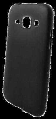 Чохол GlobalCase TPU Extra Slim Matte Samsung Galaxy J1 Black 1