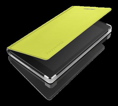 "Чехол для планшета 7"" Lenovo Tab2 A7-10 Folio case and film Green 2"