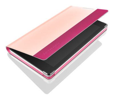 "Чехол для планшета 7"" Lenovo Tab2 A7-30 Folio case and film Pink 2"