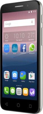Смартфон Alcatel OneTouch Pop 3 5015X Silver 2