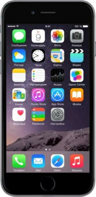 Смартфон Apple iPhone 6 64GB Space Gray 1