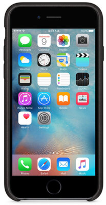 Чехол Apple MKXW2ZM/A Black для iPhone 6/6s 4