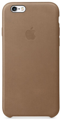 Чехол Apple MKXR2ZM/A Brown для iPhone 6/6s 1