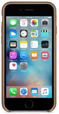 Чехол Apple MKXR2ZM/A Brown для iPhone 6/6s 4