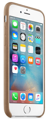 Чехол Apple MKXR2ZM/A Brown для iPhone 6/6s 5