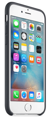 Чехол Apple MKY02ZM/A Charcoal Gray для iPhone 6/6s 5