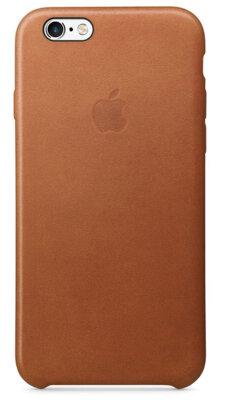 Чохол Apple Leather Case Saddle Brown для iPhone 6/6s 1