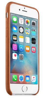 Чохол Apple Leather Case Saddle Brown для iPhone 6/6s 5