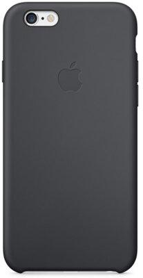 Чохол Apple Silicone Case MGQF2ZM/A Black для iPhone 6 1
