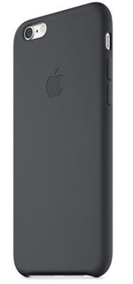 Чохол Apple Silicone Case MGQF2ZM/A Black для iPhone 6 2