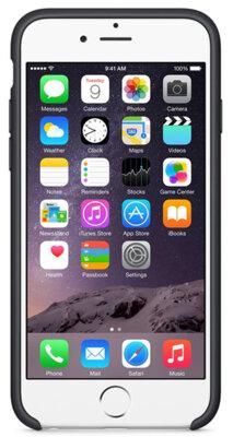 Чохол Apple Silicone Case MGQF2ZM/A Black для iPhone 6 4