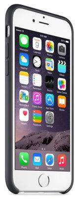 Чохол Apple Silicone Case MGQF2ZM/A Black для iPhone 6 5