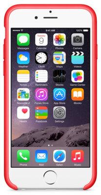 Чехол Apple Silicone Case MGQH2ZM/A Red для iPhone 6 4