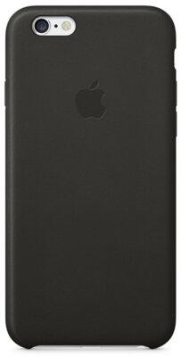 Чехол Apple Leather Case MGR62ZM/A Black для iPhone 6 1