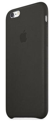 Чехол Apple Leather Case MGR62ZM/A Black для iPhone 6 2