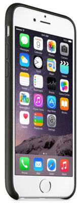 Чехол Apple Leather Case MGR62ZM/A Black для iPhone 6 5