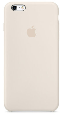 Чохол Apple Silicone Case MLD22ZM/A Antique White для iPhone 6 Plus 1