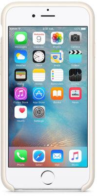 Чохол Apple Silicone Case MLD22ZM/A Antique White для iPhone 6 Plus 4