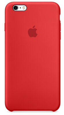 Чехол Apple Silicone Case MKXM2ZM/A Red для iPhone 6 Plus 1