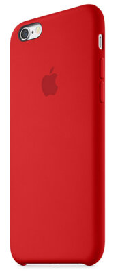 Чехол Apple Silicone Case MKXM2ZM/A Red для iPhone 6 Plus 2