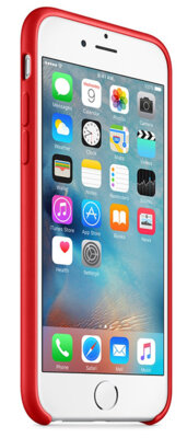 Чехол Apple Silicone Case MKXM2ZM/A Red для iPhone 6 Plus 5