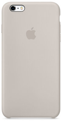 Чохол Apple Silicone Case MKXN2ZM/A Stone для iPhone 6 Plus 1