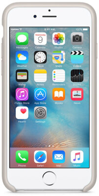 Чохол Apple Silicone Case MKXN2ZM/A Stone для iPhone 6 Plus 4